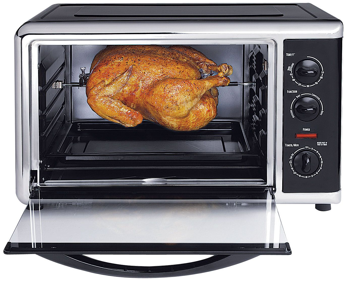 Convection ovens are generally more efficient than their conventional counterpart Source: Fingerhut