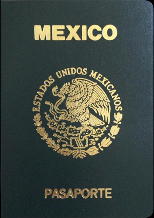 Mexican passport holders