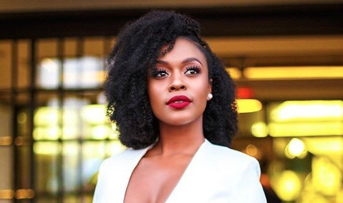 Nomzamo Mbatha delivered a moving speech at the 75th UN General Assembly.