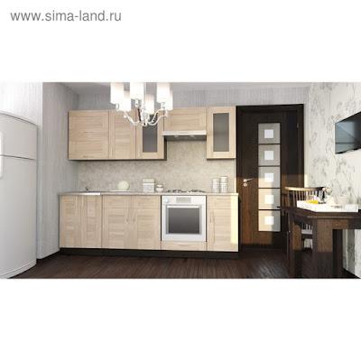 Кухонный гарнитур Ника базис 2400