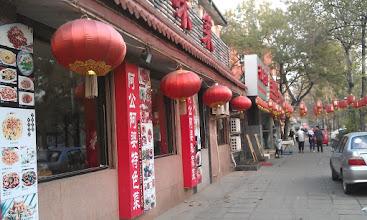 Photo: Stare mesto - Cinska restaurace, jedna vedle druhe kam oko dohledne...
