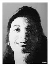 "Photo: Bruno Steinbach. ""Clara Tôrres"". Infogravura, 40 x 30 cm, 2008, João pessoa, Paraíba, Brasil."