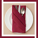 Table Napkin Folding Tutorial Offline Easy Step