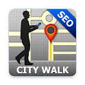 Seoul Map and Walks icon
