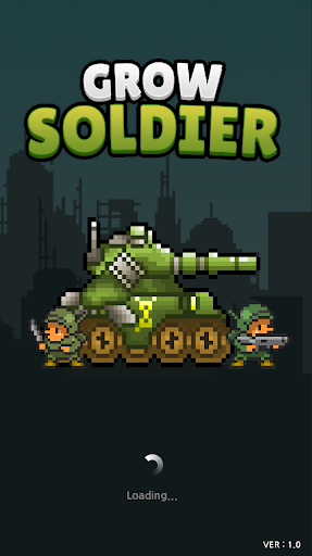 Grow Soldier - Idle Merge game  captures d'écran 1