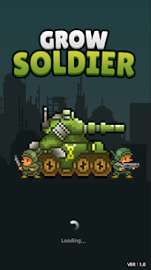 Grow Soldier – Idle Merge game Mod Apk Download For Android and Iphone 1