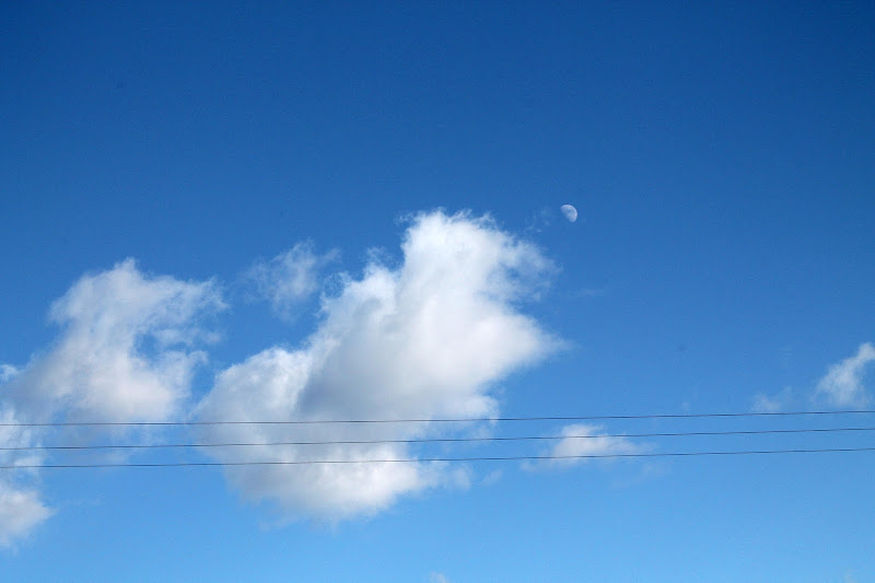 C'è anche la Luna di FabioMuscasFotografia