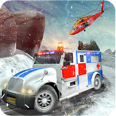 Offroad Ambulance Emergency Rescue Helicopter Game