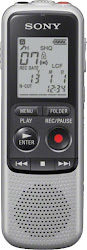 Sony Digital Voice Recorder Dictaphone - Grey