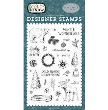 Carta Bella Stamps 4X6 - Cold Hands, Warm Heart UTGÅENDE