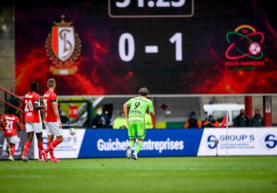 """Jelle Vossen had op meer gehoopt: """"Zo dichtbij een overwinning zijn tegen Standard en dan gelijkspelen is zuur"""""""