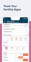 screenshot of Kindara Fertility & Ovulation Tracker