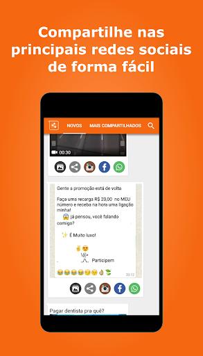 Vídeos e imagens para whatsapp screenshot 1