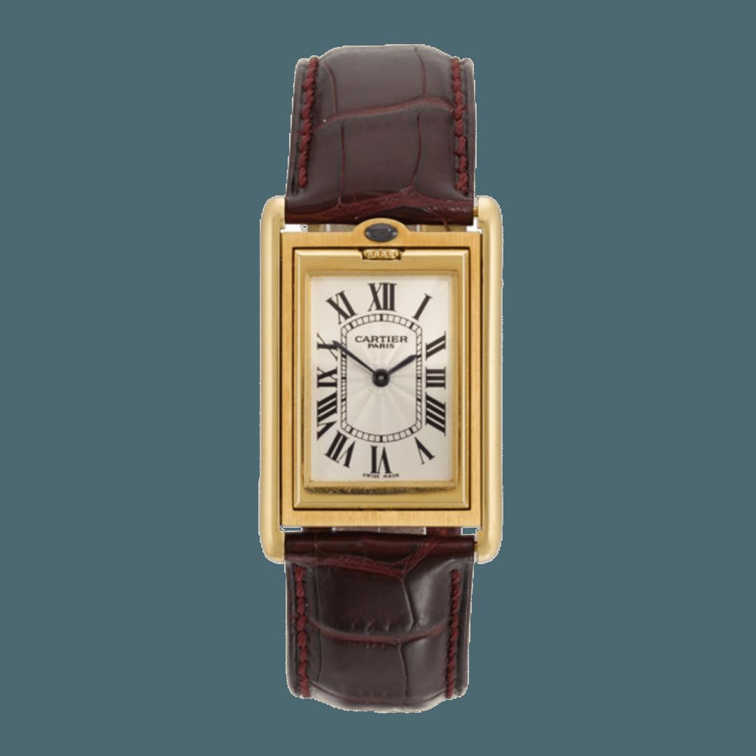 Photo of a Cartier Tank Basculante watch