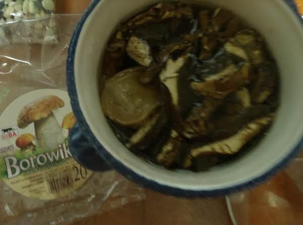 Mushroom Soup Zupa Grzybowa Recipe