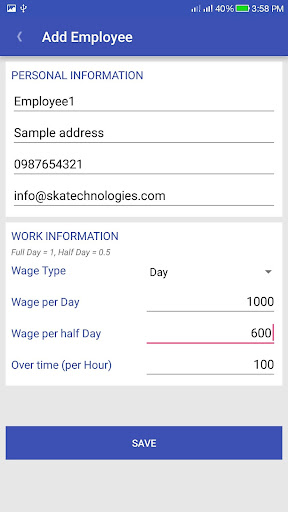 Wage Plus Payroll by SKA Technologies (Google Play, United