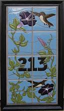 Photo: Hummingbird Address Panel Private Residence - Redondo Beach, CA