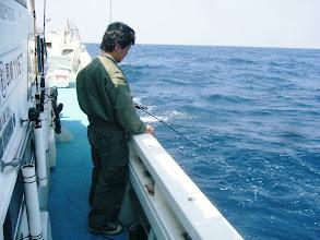 Photo: インドネシアの彼もよく釣ります!