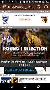 Hawthorn Official App- screenshot thumbnail