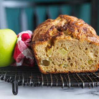 Homemade Apple Cinnamon Quick Bread.