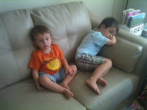 Photo: Two Brothers on The Couch
