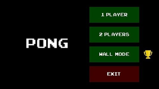 Pong screenshot 0