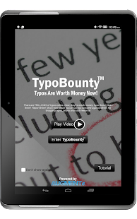 TypoBounty- screenshot thumbnail