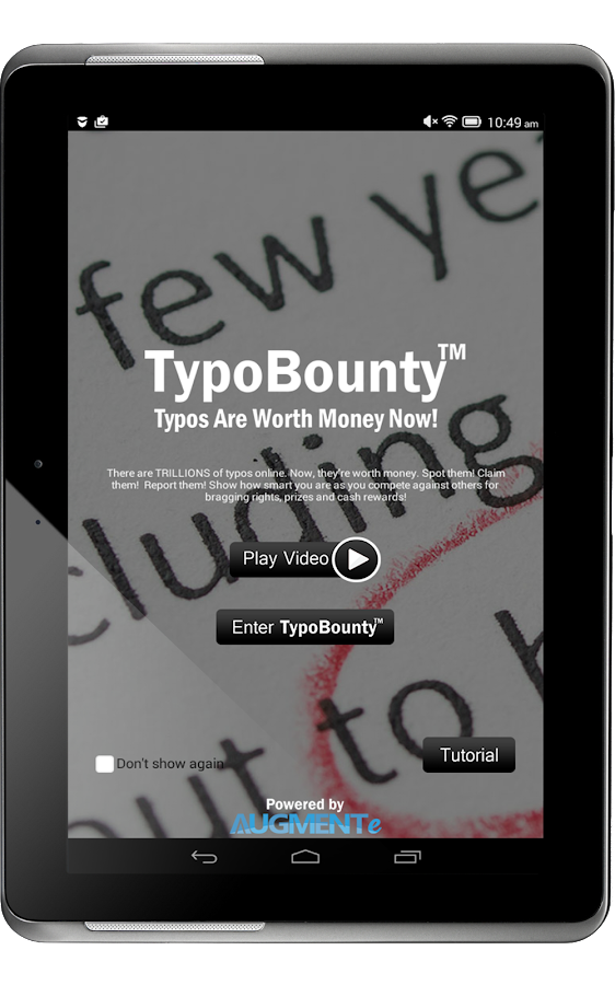 TypoBounty- screenshot