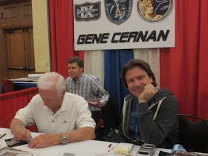 Photo: Gene Cernan & Nick Howes... oh, how smug does he look!!