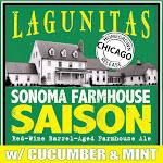 Lagunitas Sonoma Farmhouse Saison With Cucumber And Mint