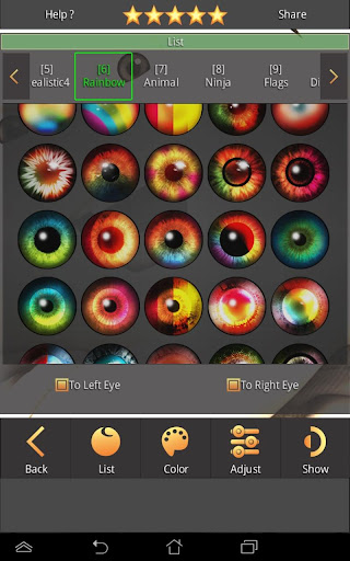FoxEyes - Change Eye Color by Real Anime Style screenshot 2