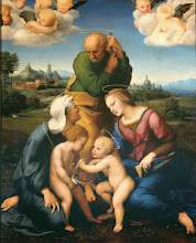 Photo: Raffaello, The Canigiani Holy Family, Ca. 1505-06