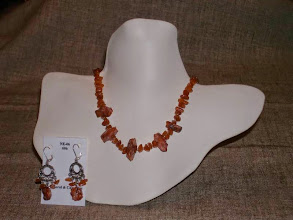 Photo: <BEREHYNYA> {Great Goddess Protectress} unique one-of-a-kind statement jewellery by Luba Bilash ART & ADORNMENT  Coral, carnelian, silver plate, sterling silver SOLD/ПРОДАНИЙ