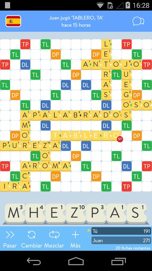 Apalabrados- screenshot