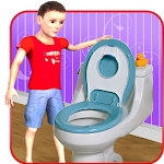 Kids Toilet Emergency Sim 3D Icon
