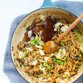 Stir-fried Udon Noodles (lightened Up!).