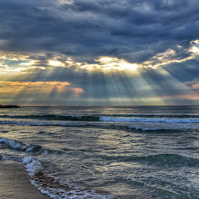 Il mare è femmina by Juan Tomas Alvarez Minobis - Landscapes Beaches ( nikon, landscape photography, sunrise, sunset, sicily, twilight, landscape,  )