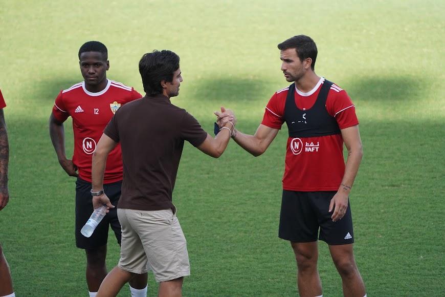 Con Juan Muñoz.
