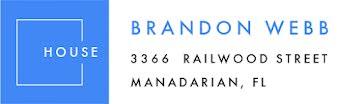 Brandon Webb - Address Label template