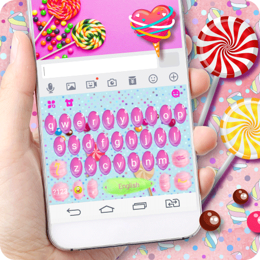 Candied Fairy Keyboard Theme Icon