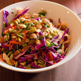Asian Kale Cabbage Slaw