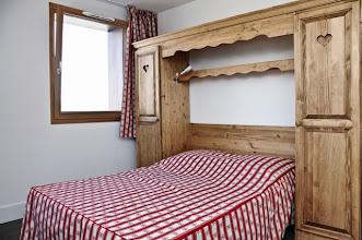 Photo: Une chambre de la résidence