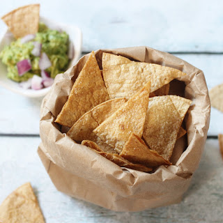 Oven Baked Tortilla Chips in 12 Minutes