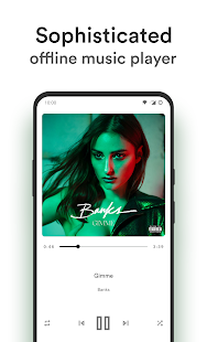 Retro Music Player Screenshot
