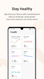Huawei Health - náhled