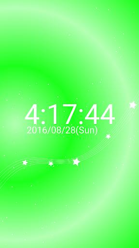玩免費遊戲APP|下載星 イメージ デジタル 卓上 時計 スター  無料版 app不用錢|硬是要APP