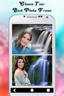 Waterfall Photo Frame1 - náhled