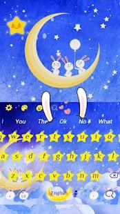Moon Rabbit Keyboard - náhled