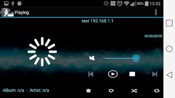 Screenshot of Sound@home for Volumio