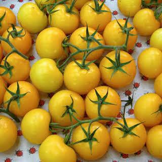 Yellow Tomato Soup, Three Ways.